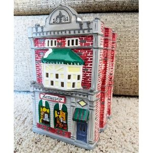 Dept 56 Cobblestone Antique Shop #51233 Ceramic